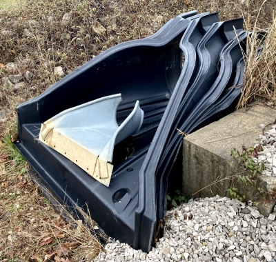 "Poly 36"" Pipe Drainage Outlets"