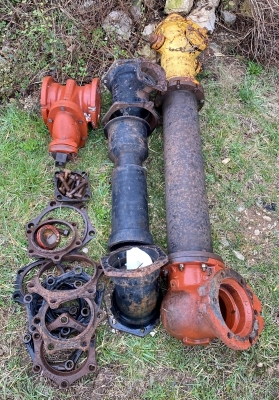 Fire Hydrant and Water Valves