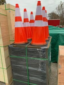 "29"" Tall Reflective Traffic Cones"
