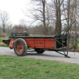 New Idea 12A Ground Driven Manure Spreader