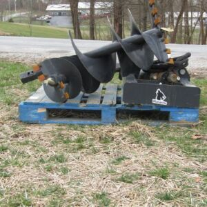 Wolverine Skid Steer Mounted Post Hole Digger