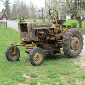 International Cub Tractor with Mower