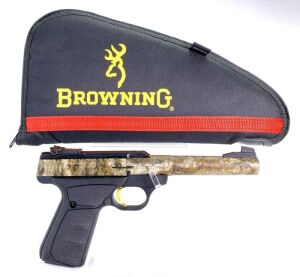 Browning Buck Mark Camper UFX 22 Pistol - New