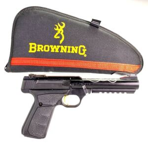 Browning Buck Mark Black Lite UFX RL FO 22 Pistol - New