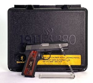 Browning 1911-380 Black Label Medallion Pro Compact 380 Pistol - New