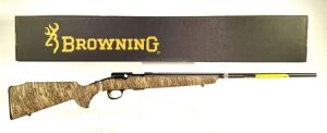 Browning T-Bolt Mossy Oak Bottomlands 17HMR Rifle - New