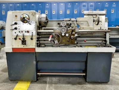 "Clausing Colchester 15"" Metal Lathe"