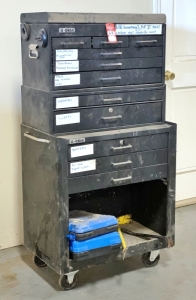 11-Drawer Roll-a-Round Tool Chest & Contents