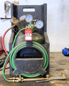 Hobart Acetylene/Oxygen Torch Set with Tanks