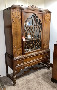 Vintage 1930's China Cupboard