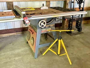 "Craftsman Contractor Series 10"" Table Saw"