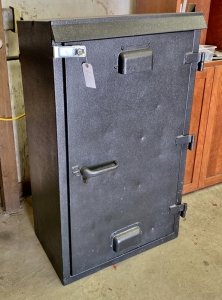 Vintage Railway Signal Cabinet Security Safe