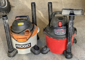 Ridgid and Craftsman Shop Vacs