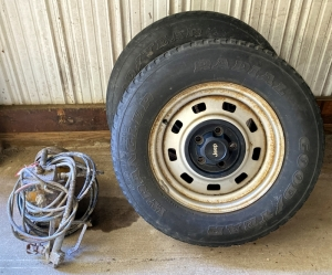 Doerr Paint Sprayer & Jeep Wheels