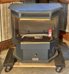 Propane Gas Fired Unvented Heater