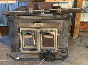 Real Flame Wood Stove