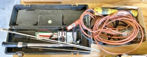 "1/2"" Torque Wrench and Electrical Items"