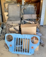 1950's Willys Jeeps Projects