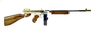 "Auto-Ordnance Corp Thompson 1927A-1 ""Saluting America's Armed Forces - Sailors"" Tribute 45 ACP Rifle"