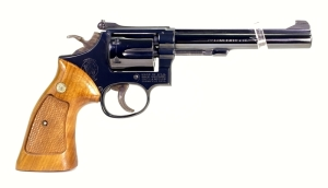 Smith & Wesson Model 17-4 22 Cal Revolver
