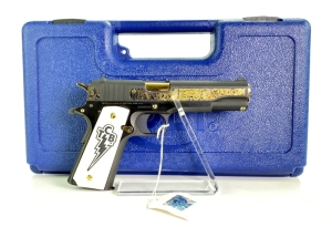 "Colt Government Model 1911 ""Elvis Presley"" 45 Cal Pistol"