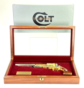 "Colt Model 1847 Walker ""Spirit of the American Indian"" Tribute 44 Cal Revolver"