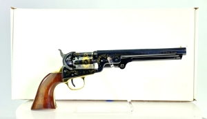 "Uberti Colt 1851 Navy ""Robert E. Lee"" Tribute Black Powder Revolver"