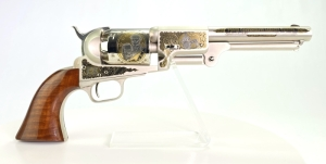 "Uberti Colt Dragoon ""Proud Confederate Leaders"" Tribute Black Powder Revolver"