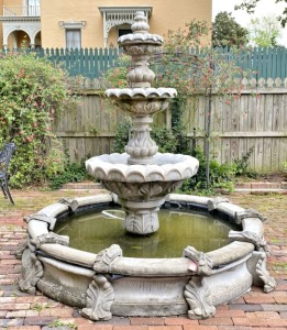 Decorative Concrete Fountain
