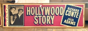 "Vintage ""Hollywood Story"" Movie Poster"