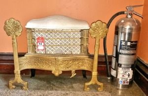 Decorative Cast Iron Gas Heater