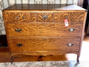 Antique Tiger Oak Dresser