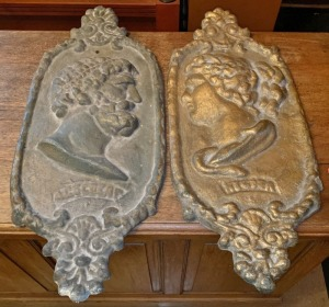 Solid Cast Iron Wall Plaques