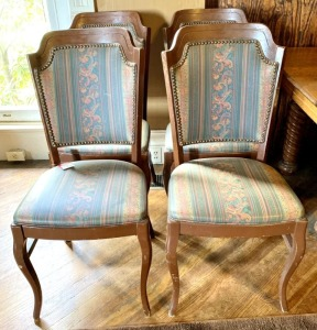 Wooden Side Matching Chairs