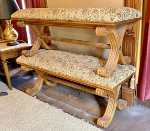 Pair Decorative Bedroom Benches