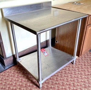 Eagle Stainless Steel Commercial Kitchen Table