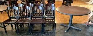 MTS Commercial Bar/Restaurant Style Table & Chairs