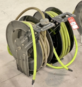 "3/8"" x 50' Air Hose on Retractable Reel"