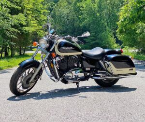 "1998 Honda Shadow ""American Classic Edition"" Tourer Motorcycle"