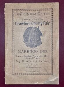 1891 Crawford County Fair Premium List