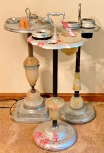 Vintage Ashtray Stands