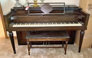 Wurlitzer Piano & Bench