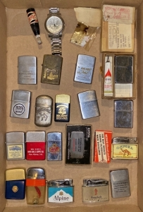Cigarette Advertising Lighters