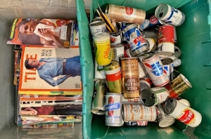 Vintage Magazines & Beer Can Collection