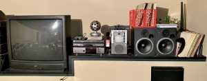 Television, Stereos, Speakers, & Albums