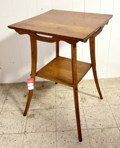 Arts & Crafts Style Oak End Table