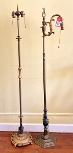 Vintage Decorative Iron Floor Lamps