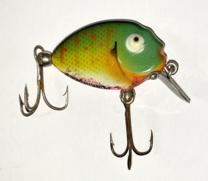 Vintage Heddon Tiny Punkinseed Fishing Lure