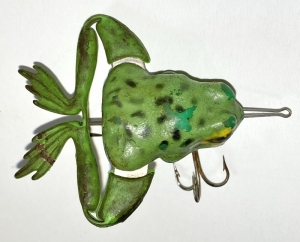 Vintage Jensen Wood Frog Legs Fishing Lure