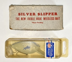 Vintage Fishing Lure & Box
